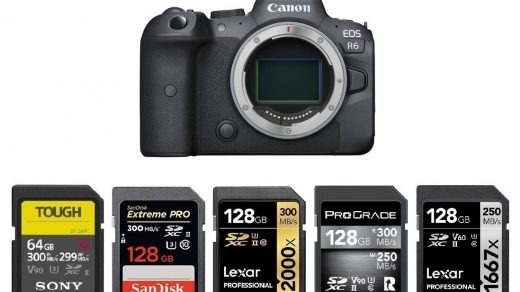 Best Memory Cards for Canon EOS R6 | Canon Camera Rumors