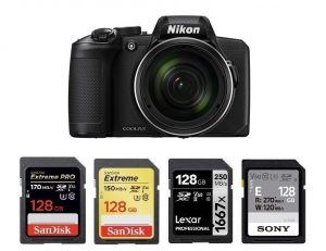 Best SD Memory Cards for Nikon COOLPIX B600 – Camera Ears