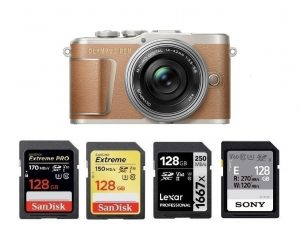 Best SD Memory Cards for Olympus PEN E-PL9 – Camera Ears