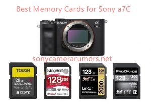 Best Memory Cards for Sony a7C | Sony Camera Rumors