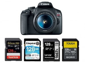 Best Memory Cards for Canon EOS Rebel T7 | Canon Camera Rumors
