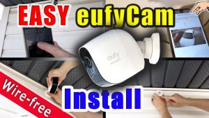 How to install a Wire free smart home security camera system | eufy Cam E  installation guide DIY – Frakking Creations