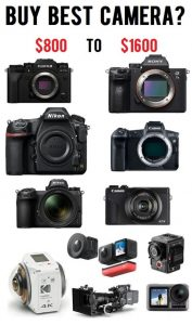 Buy Best Camera From 800$ To 1600$ | BestVideoCompilation