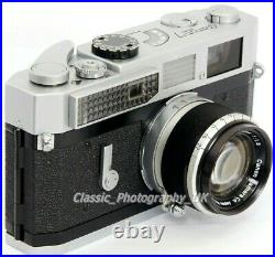 Canon Model 7 35mm Rangefinder Camera made in 1964 + Canon Lens 50mm F1.8  Lens | Camera Rangefinder Lens