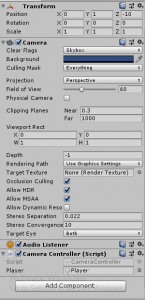 How to make camera follow the player in Unity 3d? - MaXEster | Blog