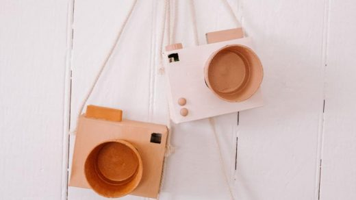 How To Make A Kid's Cardboard Camera | Collective Gen