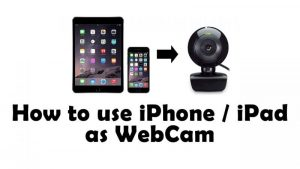🥇 ▷ How to use iPhone as a webcam (5 Best method) » ✓