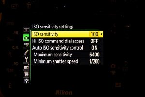 Mastering ISO setting in your camera
