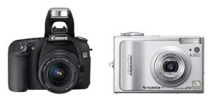 Should You Buy a DSLR or Point and Shoot Digital Camera?