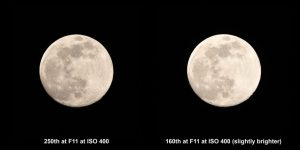 Behind the camera photographing the moon - The Photo Classroom