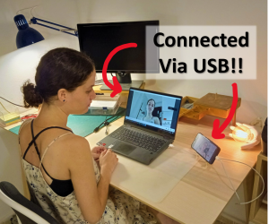 Android Smartphone As USB (!!) Webcam : 8 Steps (with Pictures) -  Instructables