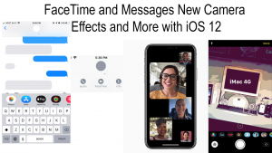 FaceTime and Messages New Camera Effects and More with iOS 12   Apple Guide