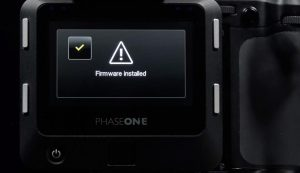 Phase One Learning Hub - Firmware Update