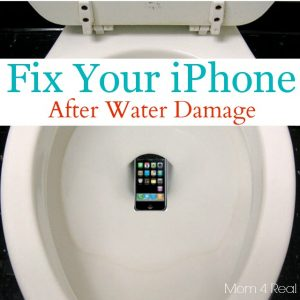 How I Fixed My iPhone After It Fell In The Toilet... - Mom 4 Real