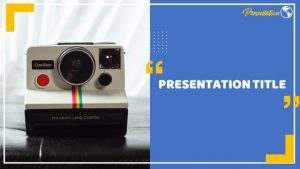 Polaroid Camera Introduction Google Slides Themes & PowerPoint Template :  MyFreeSlides