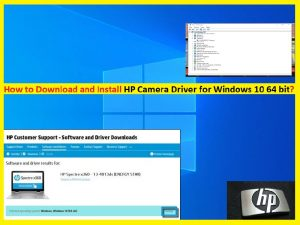 HP Camera Driver for Windows 10 64 bit: Download and Install