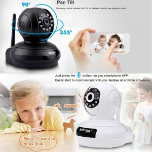 Consumer Electronics Sricam SP019 1080P Wireless WiFi IP Camera HD 2MP Home  Security Baby Monitor IP/Network - Wireless Home Security Cameras