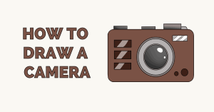 How to Draw a Camera - Really Easy Drawing Tutorial