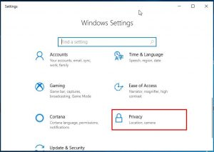 How to Enable / Disable Camera (or Webcam) Windows 10 - AvoidErrors