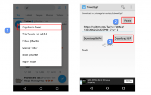 How to Save GIF from Twitter on Android, iPhone & Computer   iTechInspector
