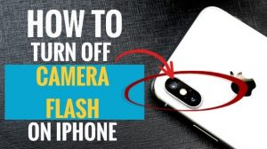 How to Turn Off Camera Flash on iPhone (3 Simple Steps)   My Smart Gadget