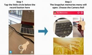 Create Snapchat Stories From Your Camera Roll (5 Simple Steps) – My Media  Social