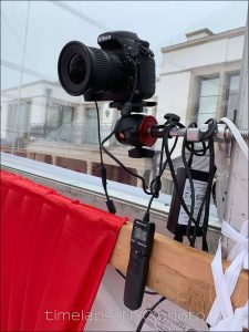 Time-Lapse Photography project: Building a wedding reception tent -  Photographer NJ New Jersey & NYC New York