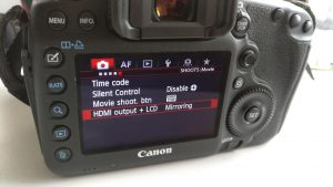 Canon EOS 5D Mark III - removing focus rectangle from live HDMI view –  andreasjakl.com