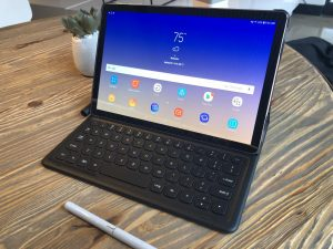 Samsung thinks the Galaxy Tab S4 can replace your laptop   TechCrunch