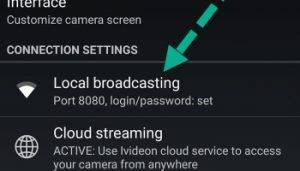 over WiFi] How to share camera between two Android Phones