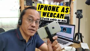 Using the iPhone as a Webcam with USB Cable on a MacBook Pro - Camo Method  - VIDEOLANE.COM ⏩