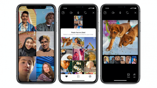 Instagram launches Co-Watching of posts during video chat | TechCrunch