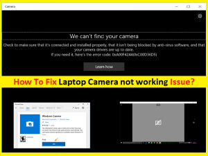 Laptop Camera Not Working: How To Fix [Easy Guide]