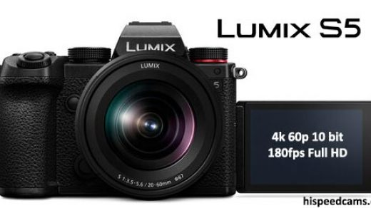 Panasonic S5 Slow Motion 180fps is Low Res!   Hi Speed Cameras