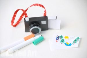 Matchbox Crafts: Camera Art Set - Red Ted Art - Make crafting with kids easy  & fun