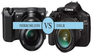 Before Buying a Camera, Ensure the Difference with Mirrorless and DSLR  Cameras - Pelikan