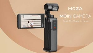 MOIN | Pocket-Sized Camera with a Gimbal from Moza | Tom Antos Films