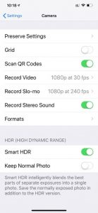 What Does HDR Mean on iPhone Photos - NiceRightNow