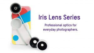 The Iris Lens Series Adds Wide Angle, Fisheye and Macro Lenses to  Smartphone Cameras