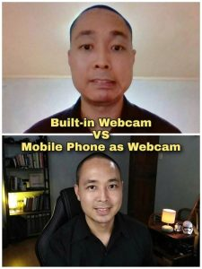 HOW TO Use your Phone as a Webcam on your PC - Robbie Agustin