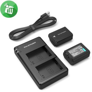 RAVPower NP-FW50 Camera Dual Battery Charger Set for Sony – Salsapeel  MobiFix