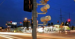 how can i know if i got caught by a red light camera