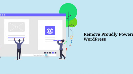 How To Remove Powered By WordPress Footer Text? - ThemeGrill Blog