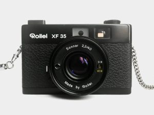 Rollei XF 35 – Film out of the blue