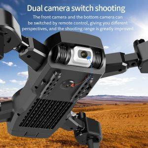 SHAREFUNBAY Drone 4k HD Wide Angle Camera 1080P WiFi fpv Drone Dual Camera  Quadcopter Height Keep Drone Camera – Online Store