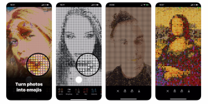 Emojivision app turns your iPhone's camera into a real-time emoji painting  machine   TechCrunch