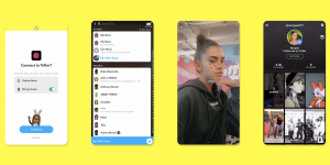 Snapchat preempts clones, syndicates Stories to other apps   TechCrunch