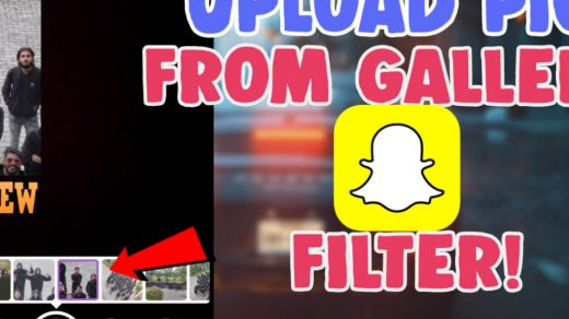 How to put Snapchat filters on pictures from camera roll - Hackanons