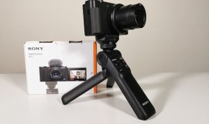 Review of Sony Vlog Camera ZV1 & Sony Bluetooth Wireless shooting grip  GP-VPT2BT in the UAE – CriticReviewer.com