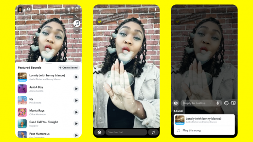 Snapchat launches its TikTok rival, Sounds on Snapchat | TechCrunch